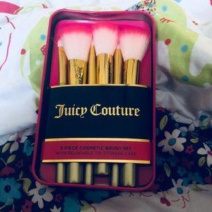 Juicy Couture Makeup - Juicy Couture makeup brush set! New